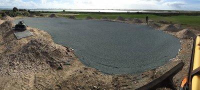Golf de Trousse Chemise, <p>Remodelage du parcours</p>
