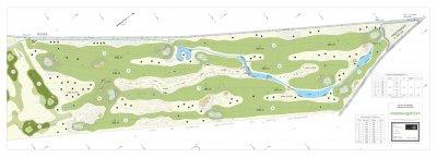 Golf du Pays Houdanais, <p>Création de 2 x 9 trous</p>